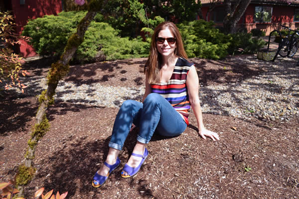 Colorful Solstice sandals make summer days even brighter!