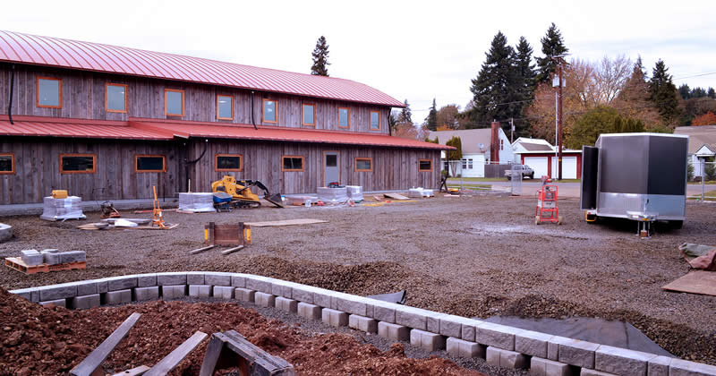 Permeable Parking Lot Coming Soon