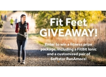 Kick Off 2018 with Our Fit Feet GIVEAWAY!