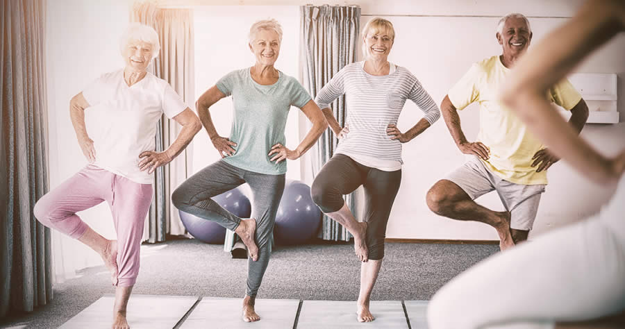 Exercise to Improve Balance at Any Age