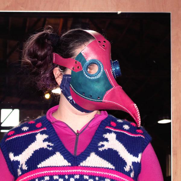 Elf Crystal's Festive Plague Doctor