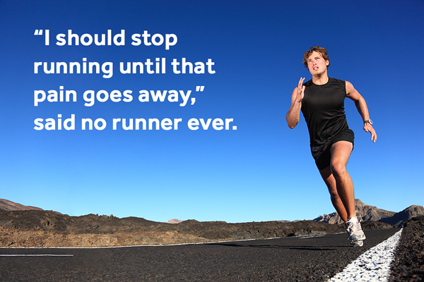 Running with Pain