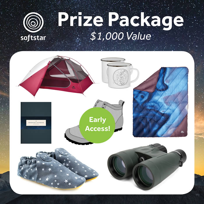 Stargazing Giveaway Prize Package